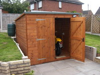 7x5 pent garden shed 7x5 pent garden shed