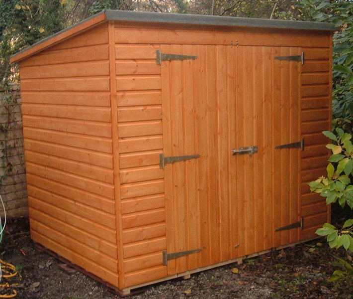 6x6 pent garden shed storage shed for Garden shed 6x6