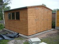 Garden Sheds 8x10 8x10 apex garden shed - garden pleasure