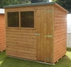 12x8 Pent Garden Shed