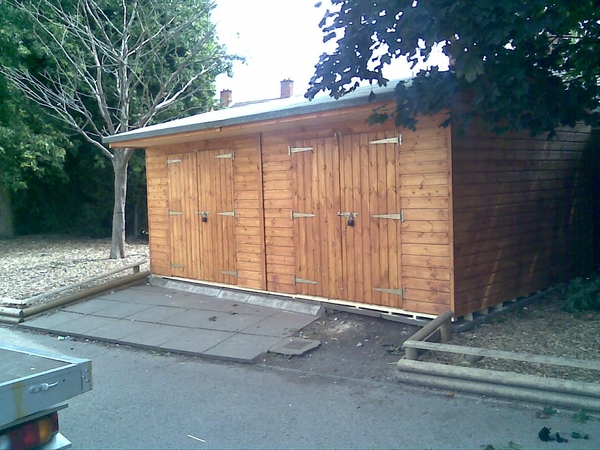 12x16 Garden Workshop - Storage Shed