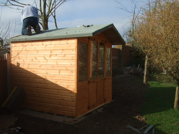 7x6 summer house without porch storage shed for Garden shed 7x6