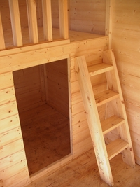 2 storey playhouse plans uk