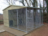 10x12 Clent Kennel Double Block System