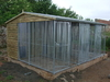 5x10 Clent Kennel Block Additional Unit